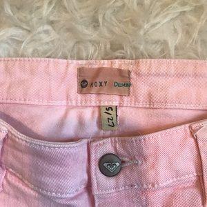 Roxy Shorts - ROXY Patterned Denim Shorts